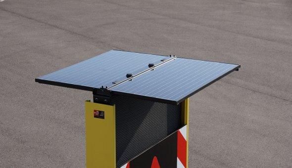 10x Tekstkar voor Fero Signalisatie met groter LED-display en compact formaat