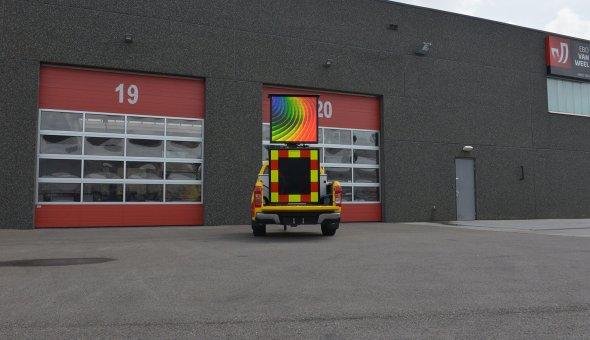 Autodrip 2.0 geleverd aan City AS in Noorwegen met 80x80 LED-display