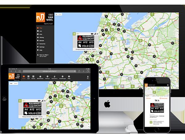 2017 - Innovatie smart-mobility toepassingen worden ontwikkeld op Traffic Fleet