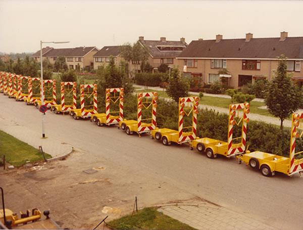Ontwikkeling en productie van eerste vluchtstrookwagen in Nederland
