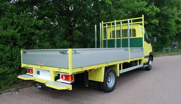 Materiaalwagen voor verkeersafzettingen Markeer & Traffic