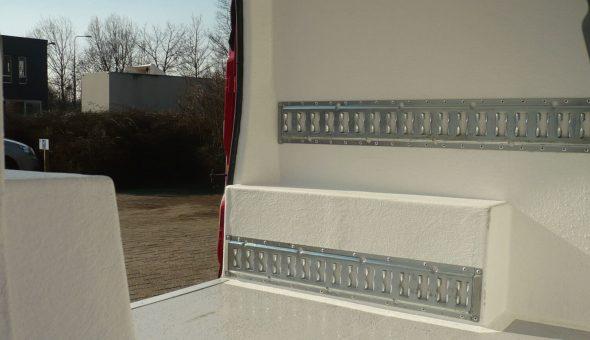 Fiat Fiorino voorzien van isolatiekit voor koeling en isolatie