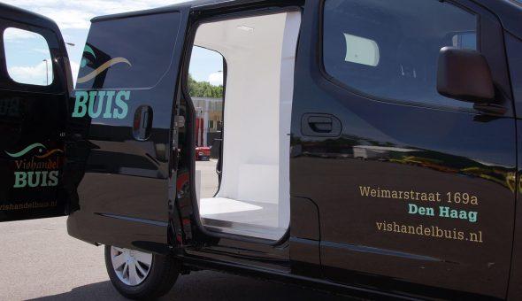 Geïsoleerde bestelwagen zonder ingebouwd in Volkswagen Transporter inclusief koelmachine