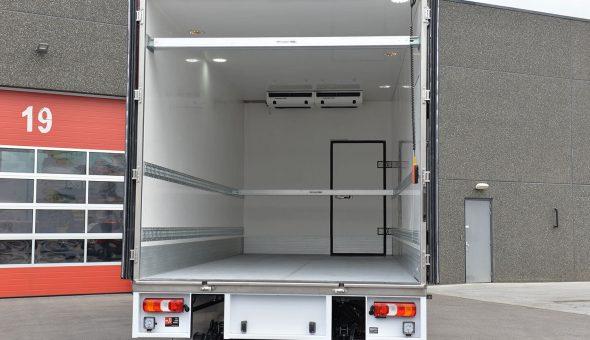 Multitemp truck opbouw voor Totaalvers met koelvries carrosserie