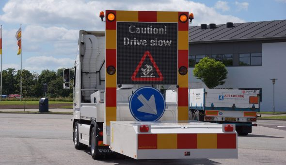 Nieuwe dealer in Noorwegen voor de verkoop van tekstwagens en botsabsorbers (TMA)