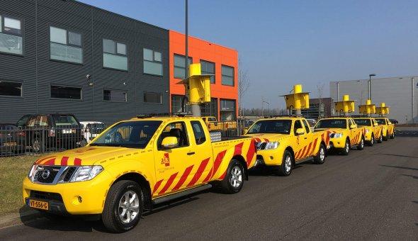25 WIS-voertuigen met autodrips afgeleverd bij Leaseplan voor de Provincie Zuid-Holland