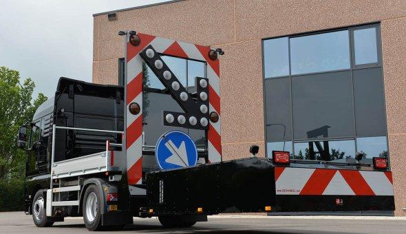 Actie botsabsorber 100K geleverd aan Wilchem voor een veilig wegafzetting