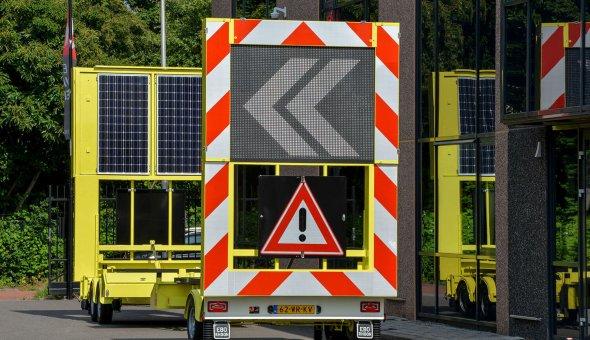 BAM Infra voorziet drie full-color tekstwagens via Traffic Fleet van real-time reistijd