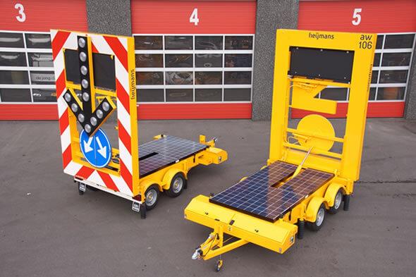 Oerdegelijk actiewagen voorzien van Smart Mobility toepassingen op Traffic Fleet