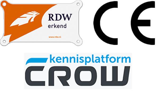 Tekstwagens en pijlwagens voldoen aan CE, EC, RDW en CROW richtlijnen