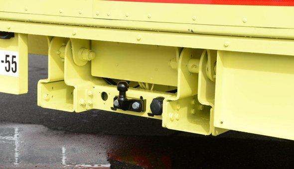 Truck Mounted Attenuator 100K met NCHRP-350 TL-3 geleverd aan BAM Infra met LED-display voor betere zichtbaarheid