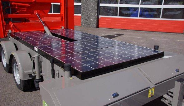 Vier pijlwagens geleverd aan Loxam Works met splitspijlenfunctie om verkeer de verdrijven