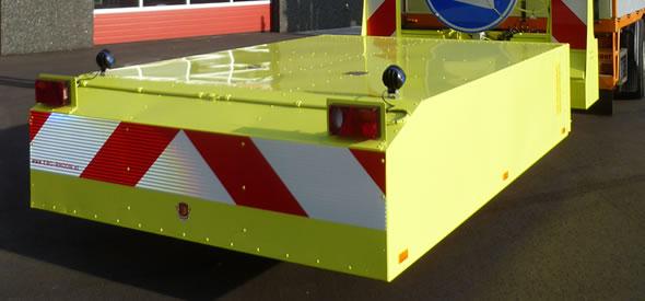 Zowel het 100K botskussen als het chassis zijn modulair opgebouwd.