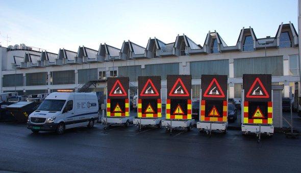 Tekstkar geleverd aan Noorse Dealer. Traffic Fleet is in heel Europa te gebruiken