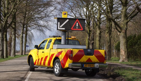 WIS-voertuigen van de Provincie Zuid-Holland uitgevoerd met Autodrip van EBO van Weel