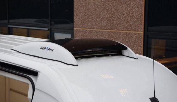 Koelwagen ombouw voor Mercedes Sprinter en voorzien van Thermoking koelmachine met aerodymanische vormen