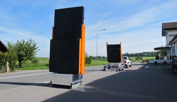 De eerste set Totems geleverd aan onze Zwitserse dealer Zbinden Posieux