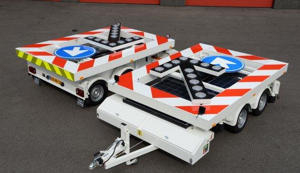 van Mourik Group voorziet haar incidentmanagement afdeling van acht pijlwagens en drie tekstwagens