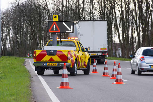 Early warnings verkeersinformatie via Flitsmeister op uw smartphone