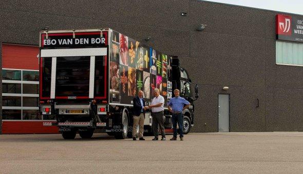 Koelvries oplegger met drie compartimenten voor EBO van der Bor