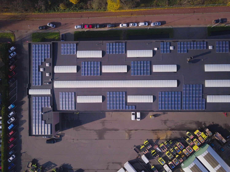 EBO van Weel te Rhoon installeert 360 zonnepanelen