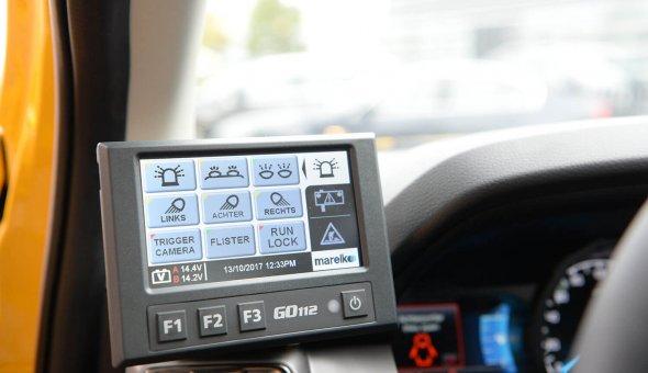 22x Autodrip 2.0 met Smart Mobility aplicaties in het WIS-voertuig voertuig