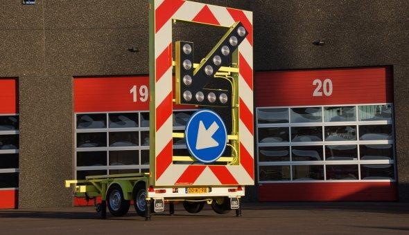 Gebruikte pijlwagen actiewagen solar ombouw occasion