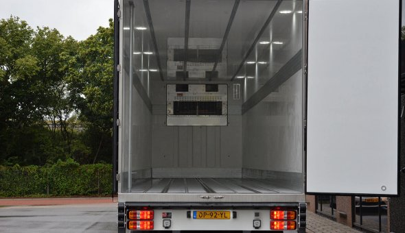 Planten oplegger met stuurbare achteras Draco chassis - Oriental Group