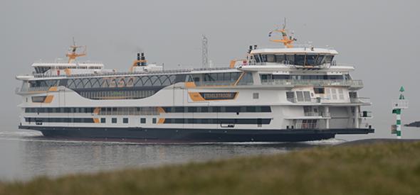 TESO nieuwe veerboot - Texel veerdienst