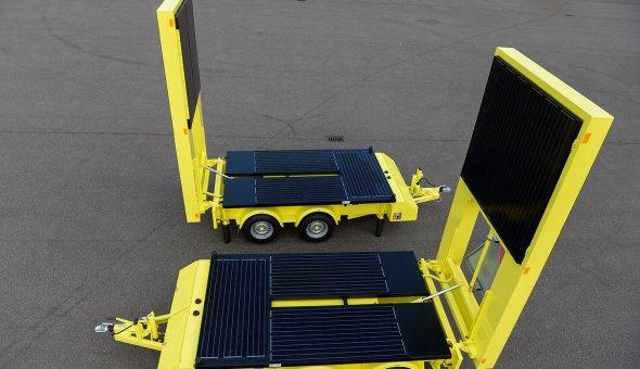 2x Tekstwagen Solar geleverd aan Versluys Verkeerstechniek