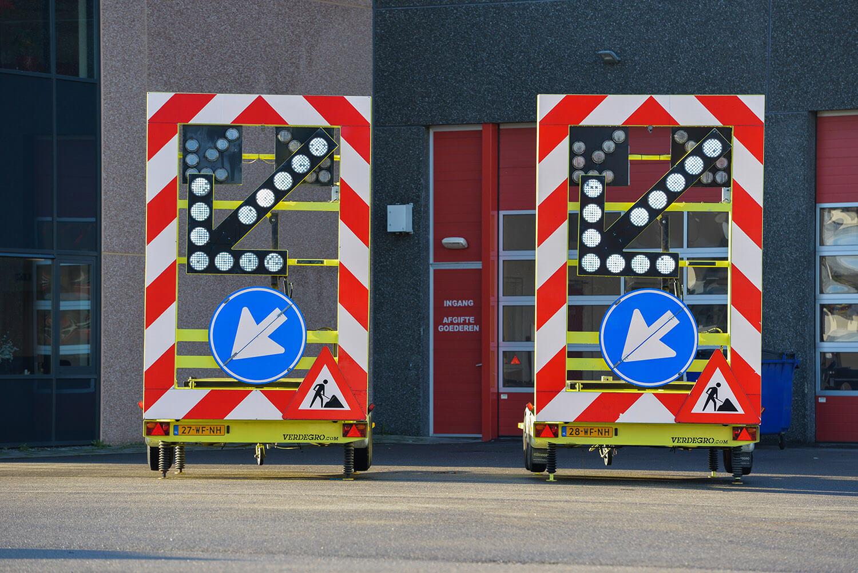 Actiewagen Verdegro met splitspijlfunctie - pijlwagen occasion