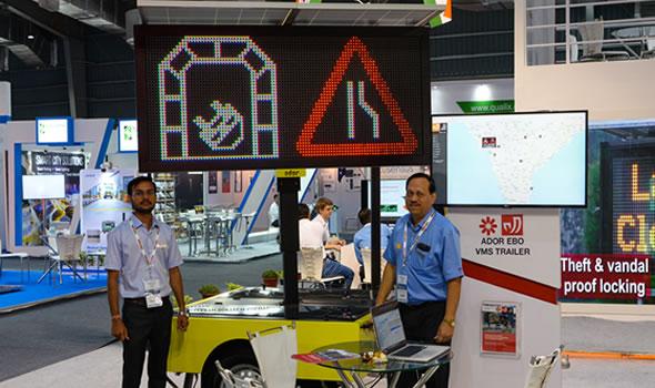 ADOR EBO trailer at Mumbai Traffic InfraTech Expo 2018