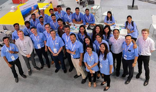 Ador Team at Traffic InfraTech Expo 2018 Mumbai