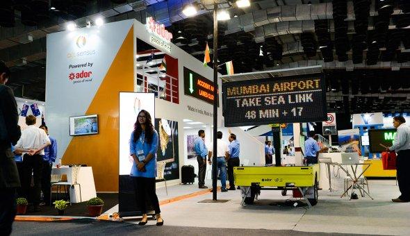 Traffic Infratech Expo Mumbai 2018 Ador Powertron and EBO van Weel (13)