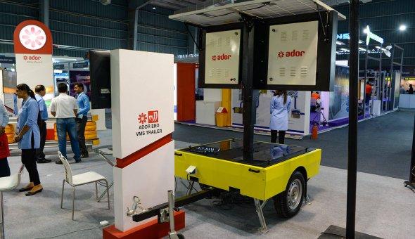 Traffic Infratech Expo Mumbai 2018 Ador Powertron and EBO van Weel (4)
