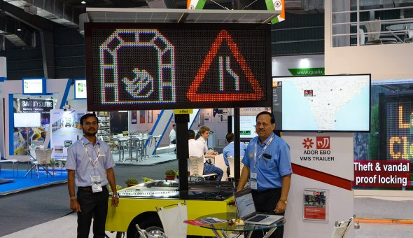 Traffic Infratech Expo Mumbai 2018 Ador Powertron and EBO van Weel (5)