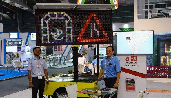 Traffic Infratech Expo Mumbai 2018 Ador Powertron and EBO van Weel (5)