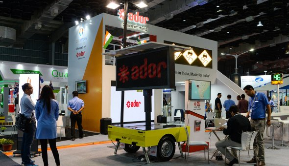 Traffic Infratech Expo Mumbai 2018 Ador Powertron and EBO van Weel (6)