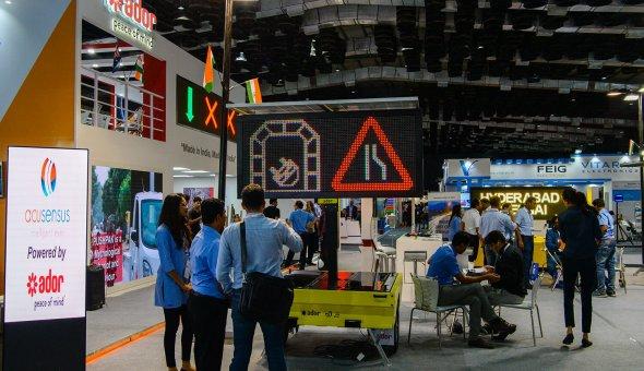 Traffic Infratech Expo Mumbai 2018 Ador Powertron and EBO van Weel (7)