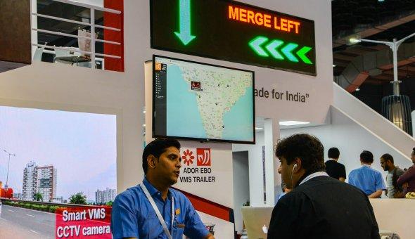 Traffic Infratech Expo Mumbai 2018 Ador Powertron and EBO van Weel (8)