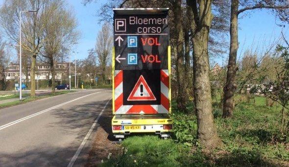 2x Solar Tekstwagen voor de Gemeente Noordwijk