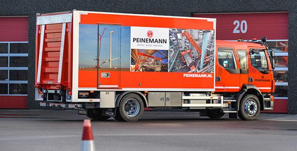 Mobiele werkplaats carrosserie voor industriele toepassingen (1)
