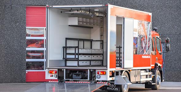 Mobiele werkplaats carrosserie voor industriele toepassingen (2)