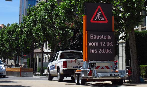 Totems voor veilige wegafzettingen