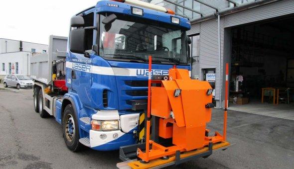 Andreasstrippenlegger met vacuum voor Nederlandse Andreasstrippen CROW