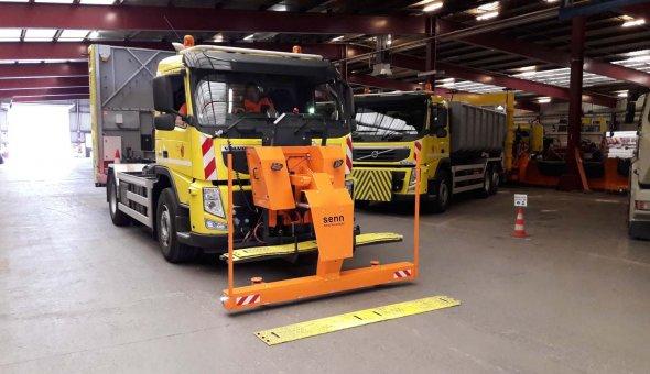 Veilig Andreasstrippen leggen met RAPTOR 2M machine