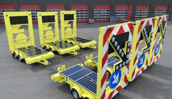 Brede reeks modellen geleverd Versluys Verkeerstechniek