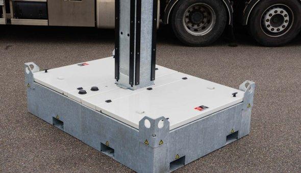 Mobiele Bermdrips voor weergave Actuele Reistijd informatie SAA5 - Amsterlveen VEENIX