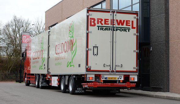 Box body isolated combination for Breewel Transport built on Mercedes Actross