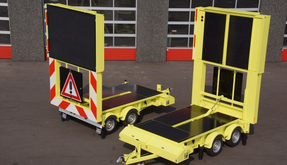 City counsel Amsterdam invest in four full-colour VMS-trailer wit 112x80 pixels